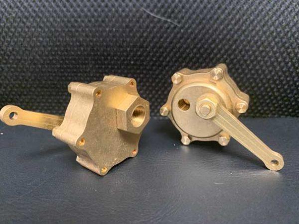 Blow down valve
